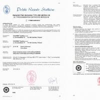 Drzwi A60 certyfikatPRS s0