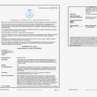 Drzwi B15 certyfikat ABS s0