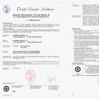 Drzwi B15 certyfikat PRS s0