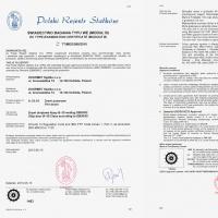 Drzwi B30 certyfikat PRS s0